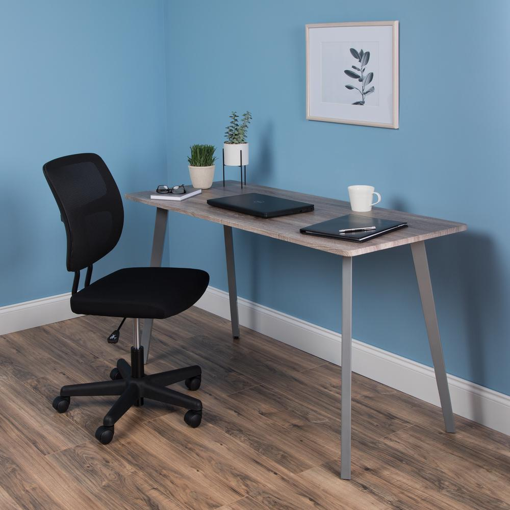 """OFM Core Collection 55"""" Computer Desk, in Driftwood (1055-SLV-DWD). Picture 7"""