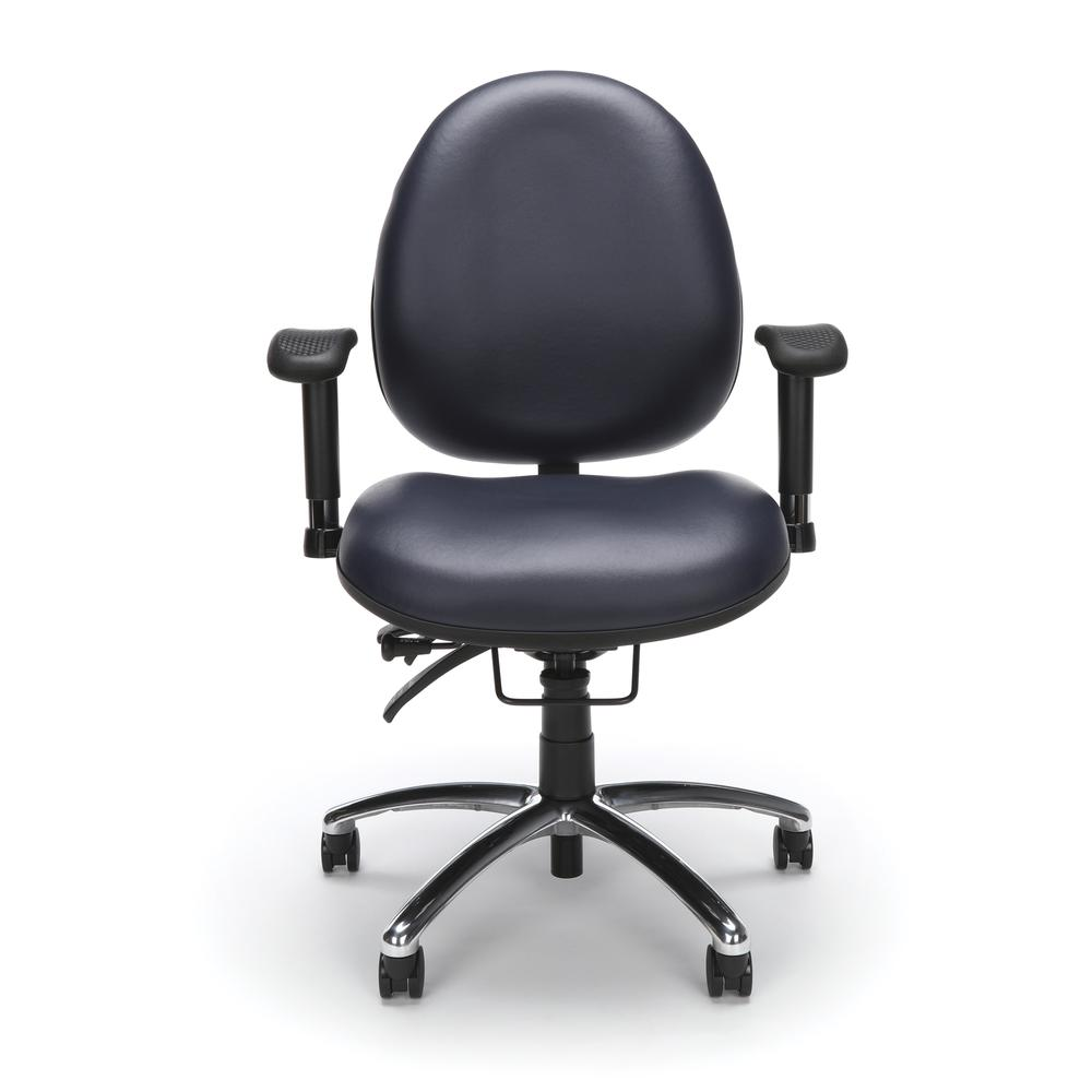 OFM Model 247-VAM Big , Tall Computer Swivel Task Chair with Arms, Vinyl. Picture 2