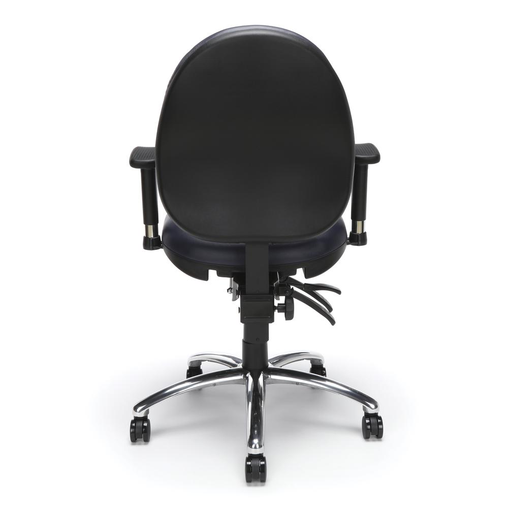 OFM Model 247-VAM Big , Tall Computer Swivel Task Chair with Arms, Vinyl. Picture 3