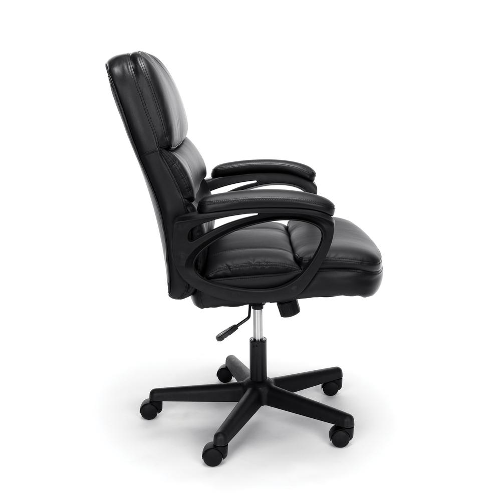 OFM ESS-6025 Bonded Leather Manager's Chair with Arms. Picture 4