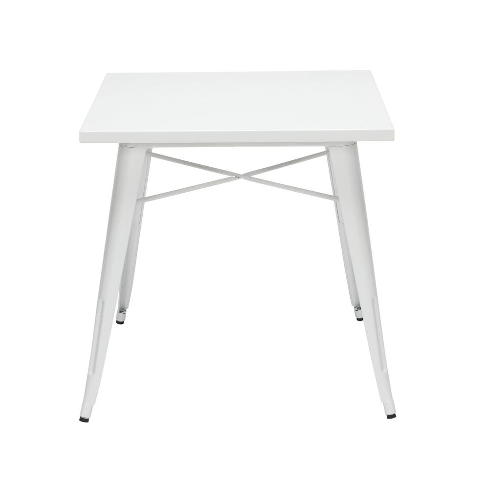 "The OFM 161 Collection Industrial Modern 30"" Square Dining Table is a blank slate that pairs perfectly with any chair from the 161 Collection. This industrial table doesn't just look rugged, it weathe. Picture 3"