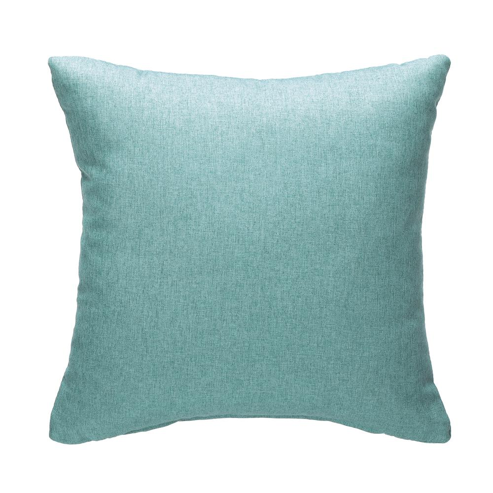161 Collection Mid Century Modern 2-Pack 18 x 18 Accent Pillows, Teal. Picture 2