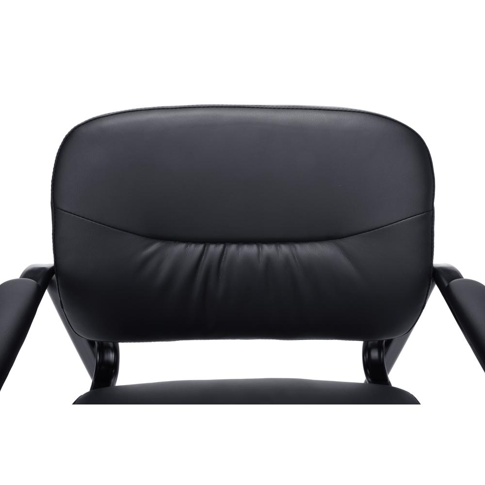 OFM ESS-9015 Bonded Leather Side Chair with SBase. Picture 6