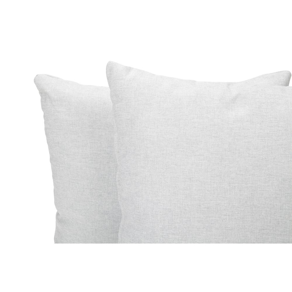 161 Collection Mid Century Modern 2-Pack 18 x 18 Accent Pillows, Light Gray. Picture 7