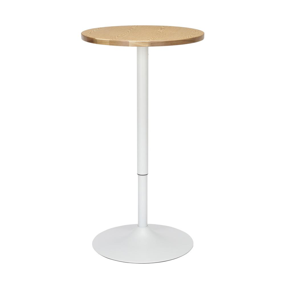 "The OFM 161 Collection Industrial Modern 33"" to 42"" Adjustable Pub Table provides a blank canvas that pairs beautifully with any of the stool seating from the 161 Collection. The pub table's height ad. Picture 4"