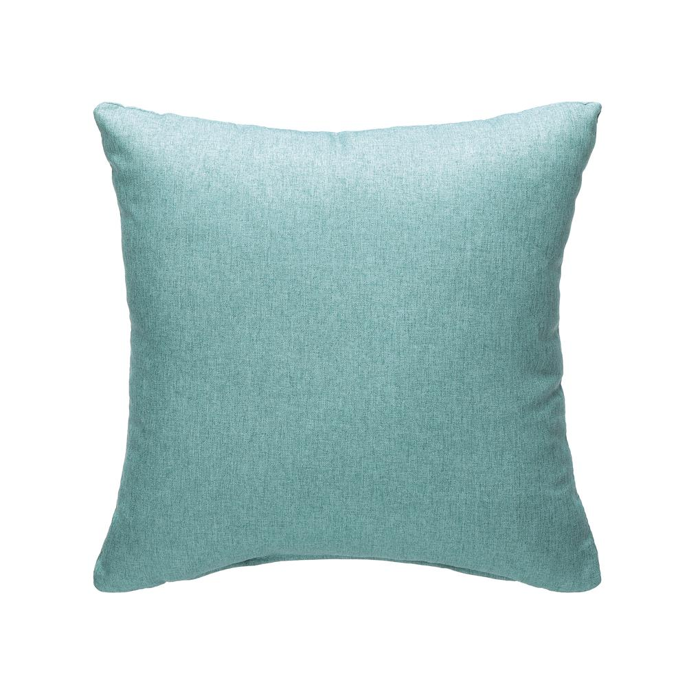 161 Collection Mid Century Modern 2-Pack 18 x 18 Accent Pillows, Teal. Picture 3