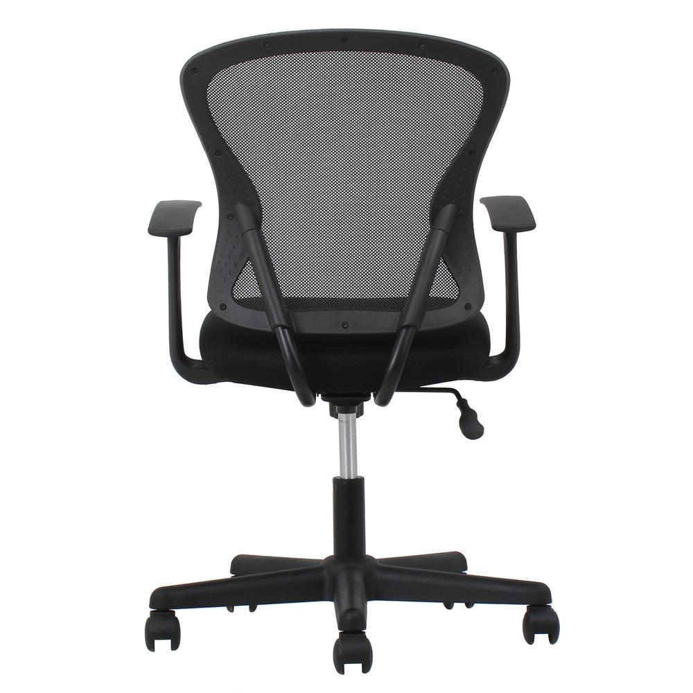 OFM ESS-3011 Swivel Mesh Back Task Chair with Arms, Mid Back. Picture 3