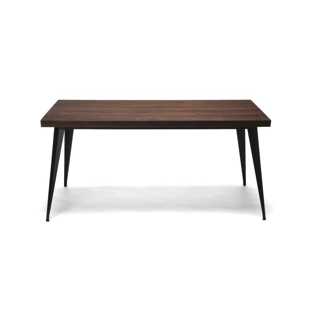 "OFM Edge Series 62"" Modern Wood Desk - Walnut (33362-WLT). Picture 3"