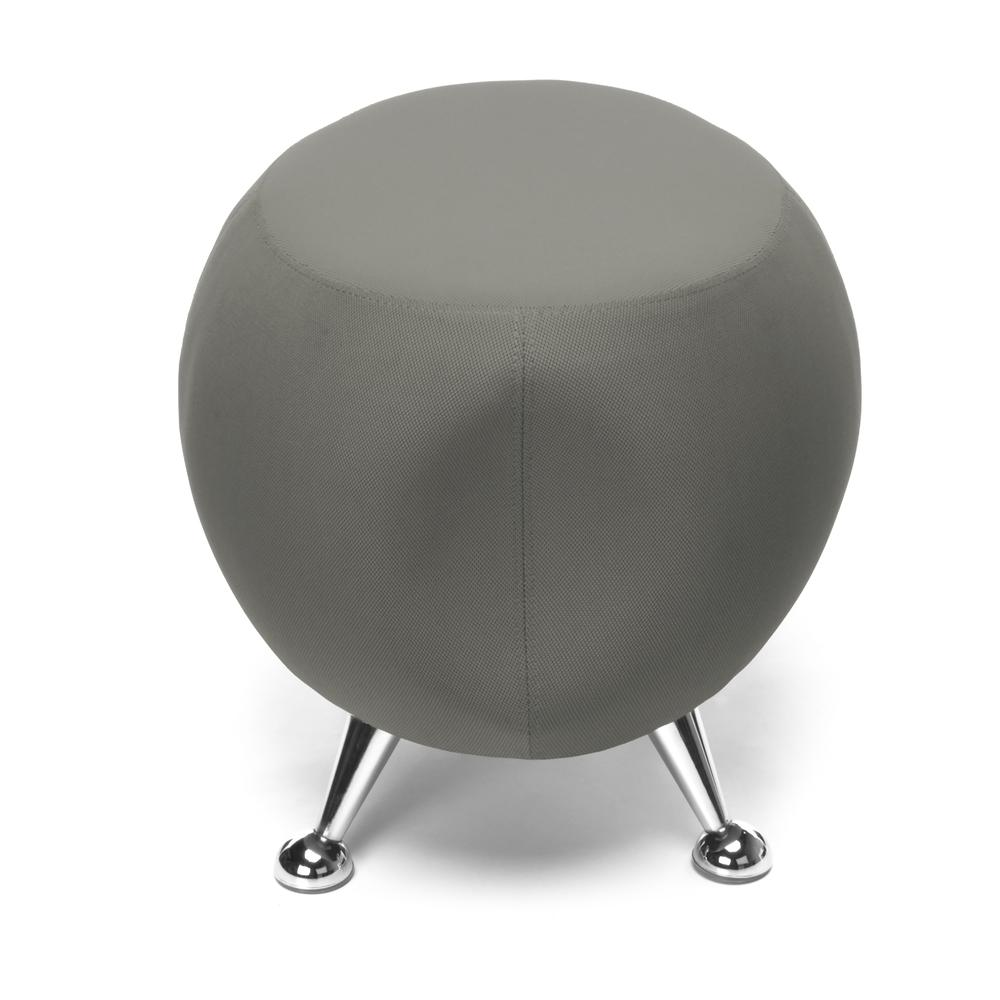 OFM Jupiter Series Fabric Ball Stool, in Gray (2001-2315). Picture 5