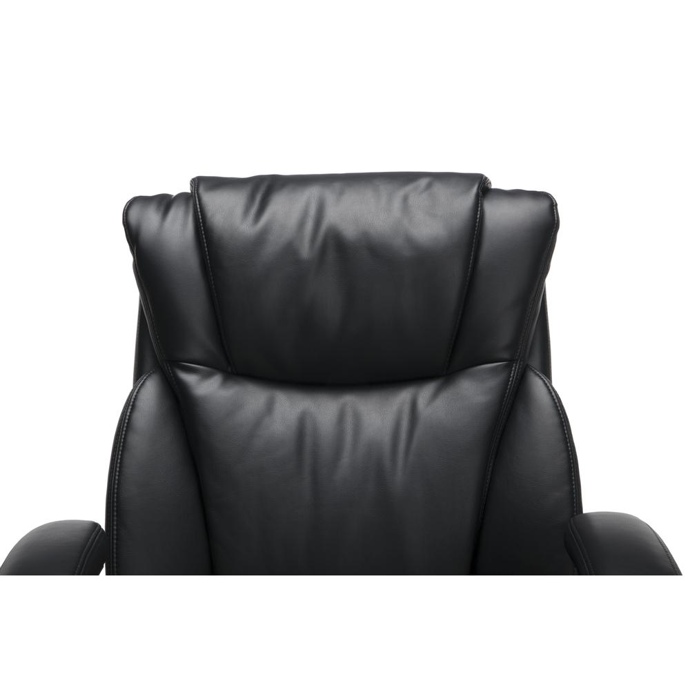 OFM Essentials Series Ergonomic Executive Bonded Leather Office Chair, in Black (ESS-6046-BLK). Picture 6