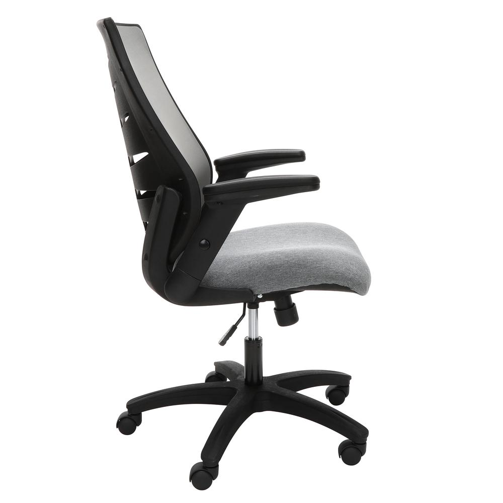 OFM Model 530-GRY Core Collection Midback Mesh Office Chair for Computer Desk, Gray. Picture 4