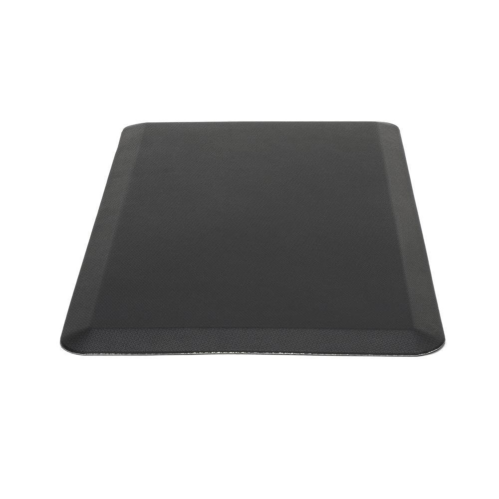 "Essentials by OFM ESS-8820 20"" x 36"" Anti-Fatigue Comfort Mat, Black. Picture 5"