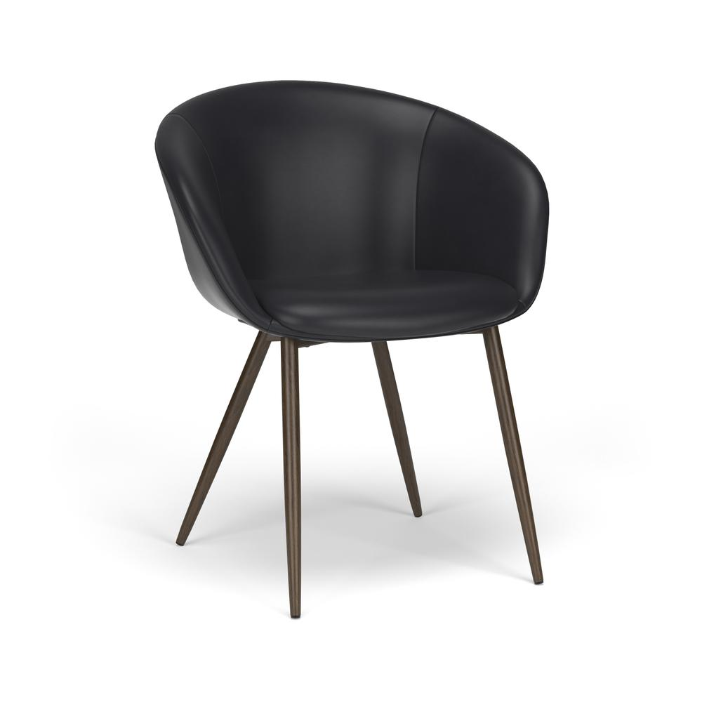 HON Basyx Monroe Bonded Leather Upholstered Guest Chair, in Black (BSX301SB11MW). Picture 1