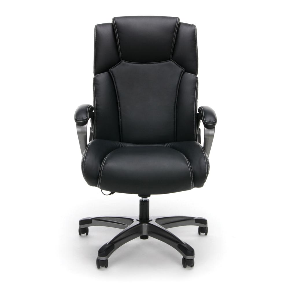 OFM ESS-6035M Heated Shiatsu Massage Bonded Leather Chair. Picture 2