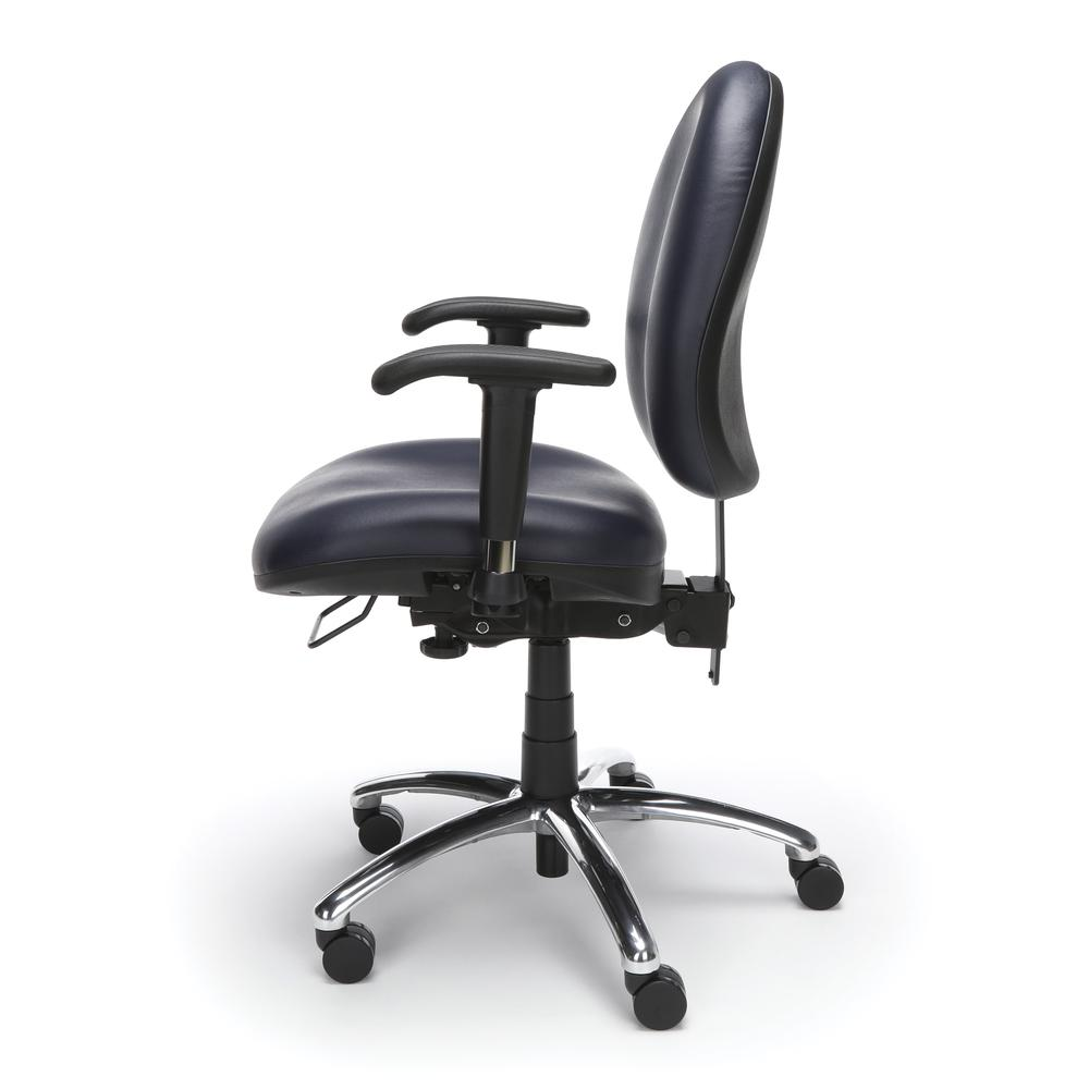 OFM Model 247-VAM Big , Tall Computer Swivel Task Chair with Arms, Vinyl. Picture 5