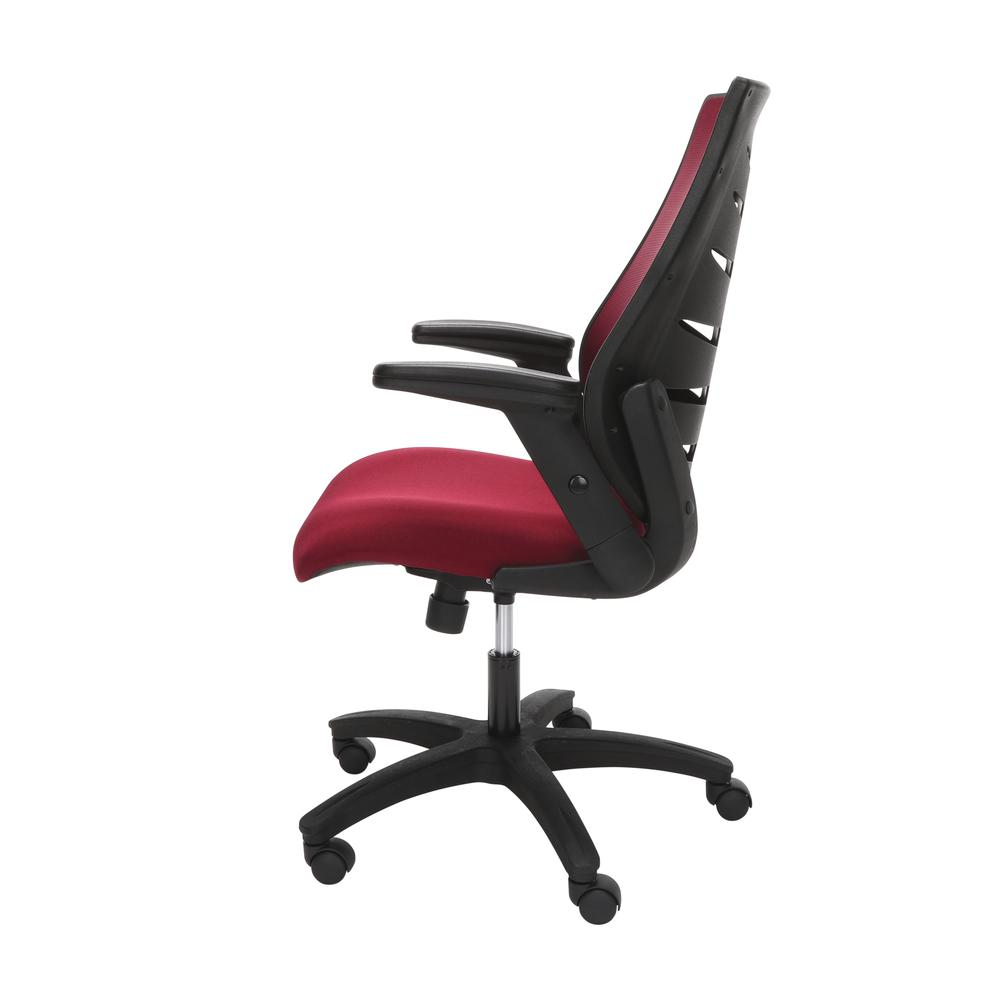 OFM Model 530-BURG Core Collection Midback Mesh Office Chair for Computer Desk, Burgundy. Picture 5