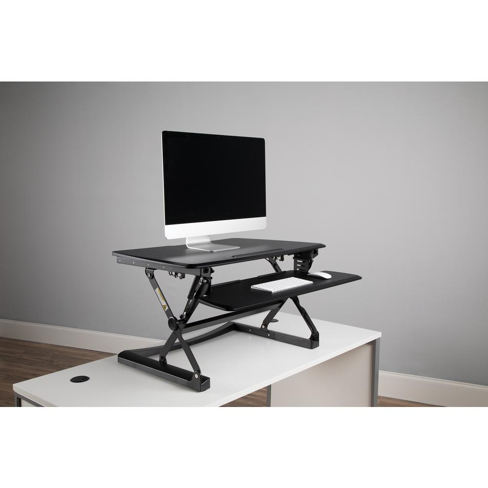 OFM Model 5100 Height Adjustable Sit to Stand Desktop Riser. Picture 7