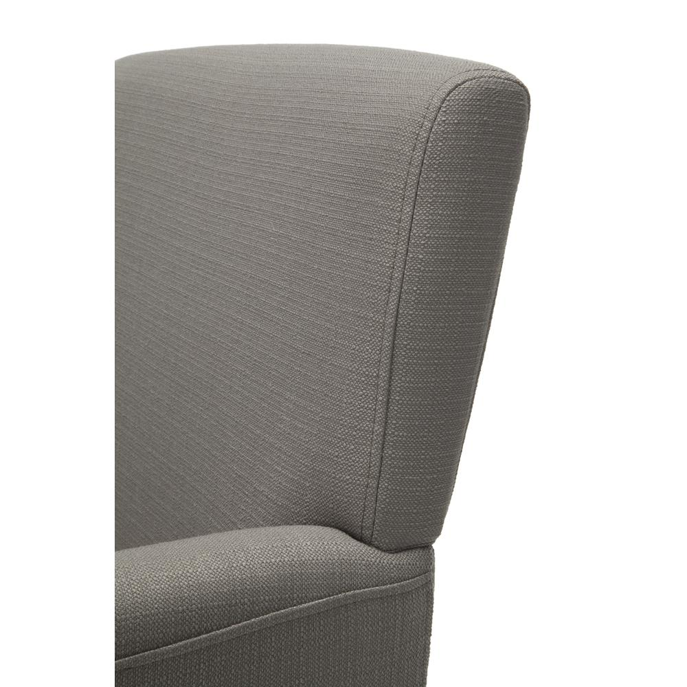 OFM ESS-9025 Fabric Guest Chair with Arms and Wooden Legs, Tan. Picture 6