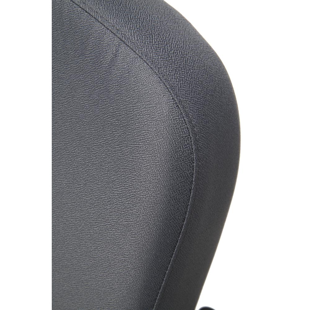 OFM Model 407 Fabric Big and Tall Guest and Reception Chair with Arms, Gray. Picture 6