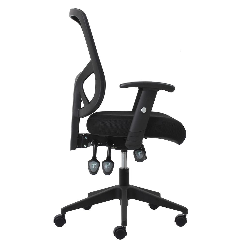 OFM ESS-3050 3-Paddle Mesh High-Back Task Chair with Arms and Support. Picture 4