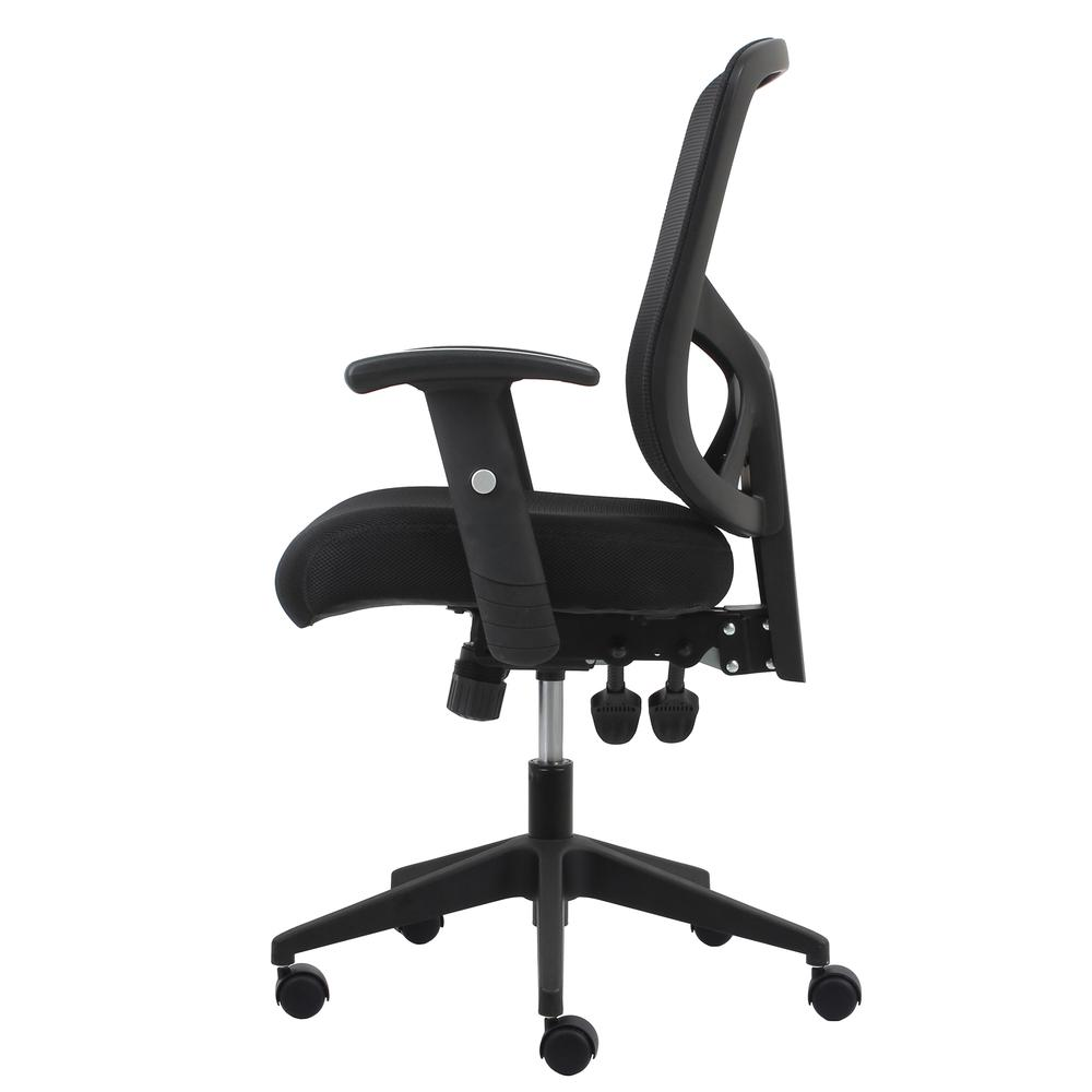 OFM ESS-3050 3-Paddle Mesh High-Back Task Chair with Arms and Support. Picture 5