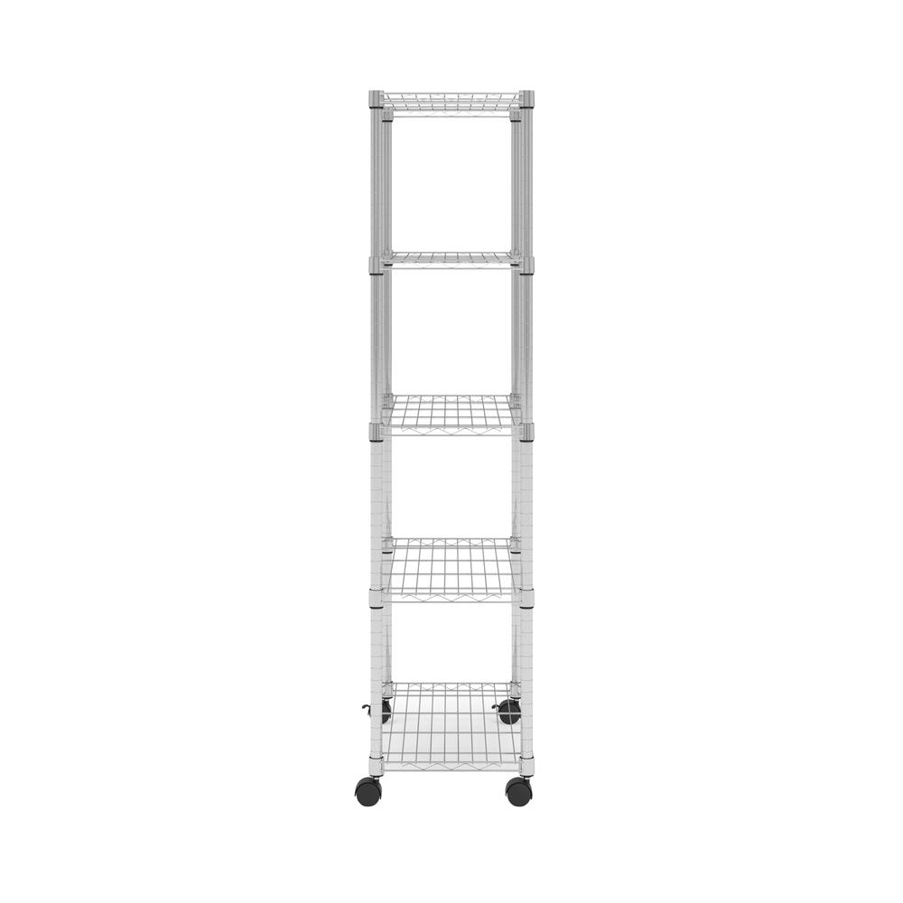 OFM Adjustable Wire Shelving Unit 30 x 60, in Chrome (S306014-CHRM). Picture 4