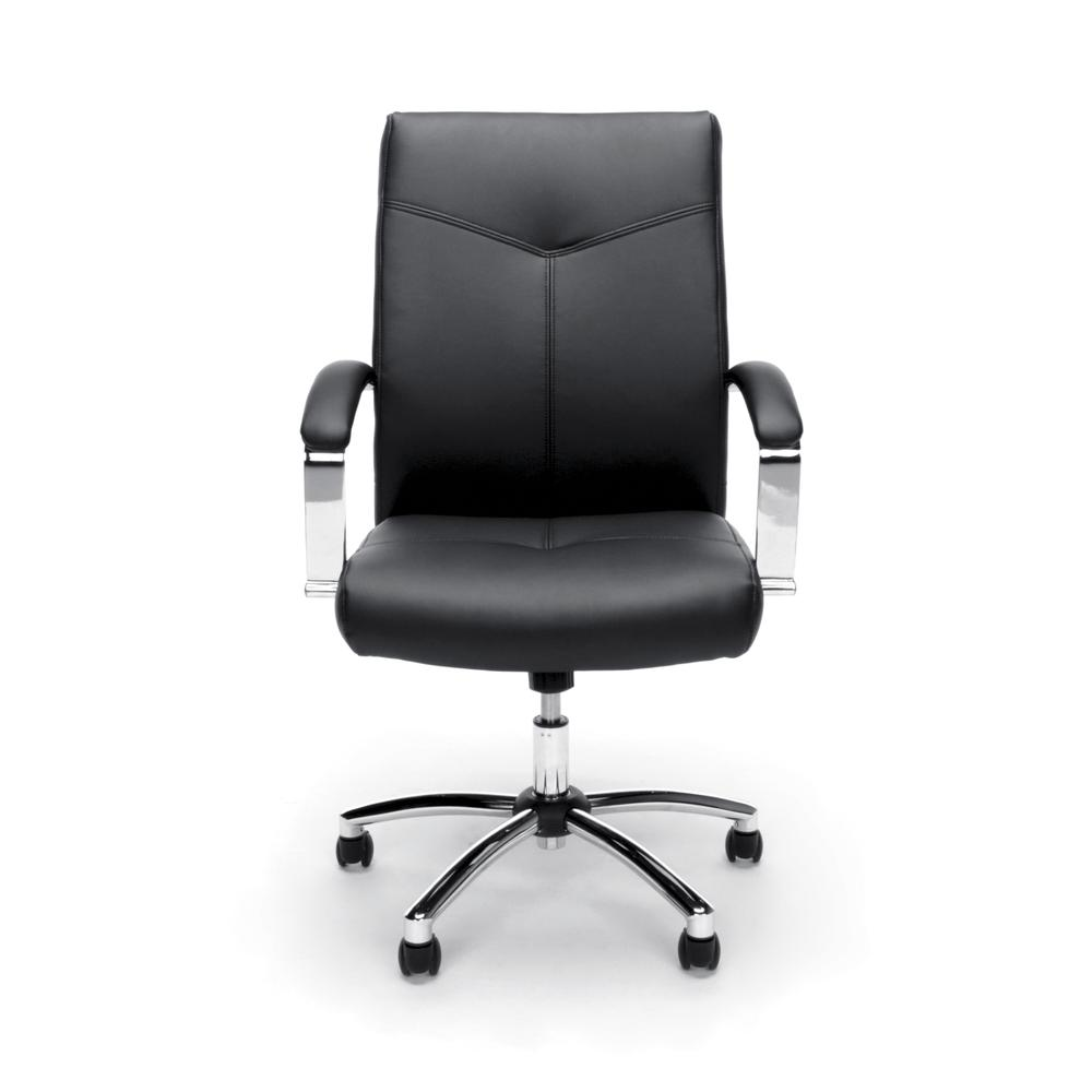 Essentials by OFM E1003 Executive Conference Chair, Black. Picture 2