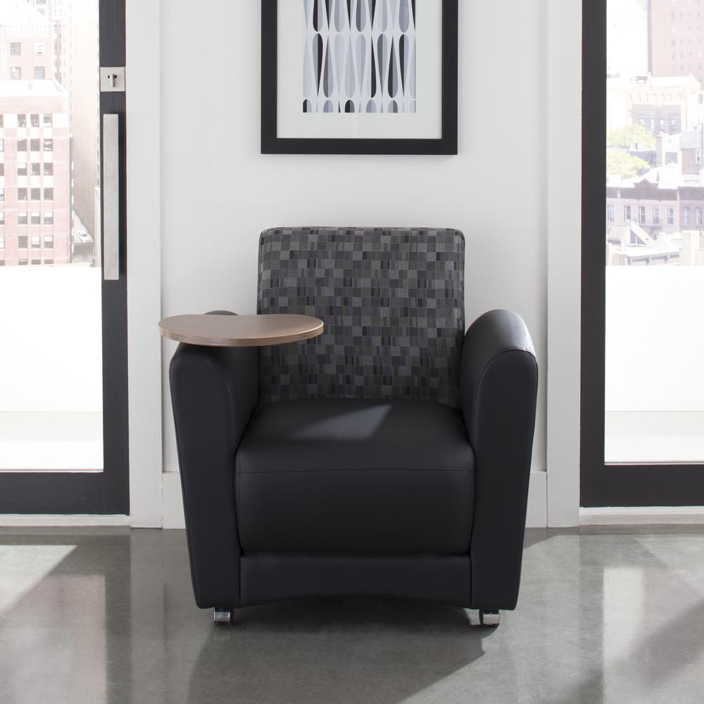 OFM  Single Seat Chair with Bronze Tablet,/Nickel (821-N-606-BRONZ). Picture 7