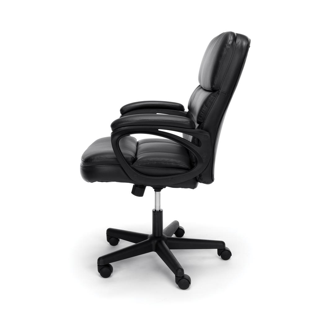 OFM ESS-6025 Bonded Leather Manager's Chair with Arms. Picture 5