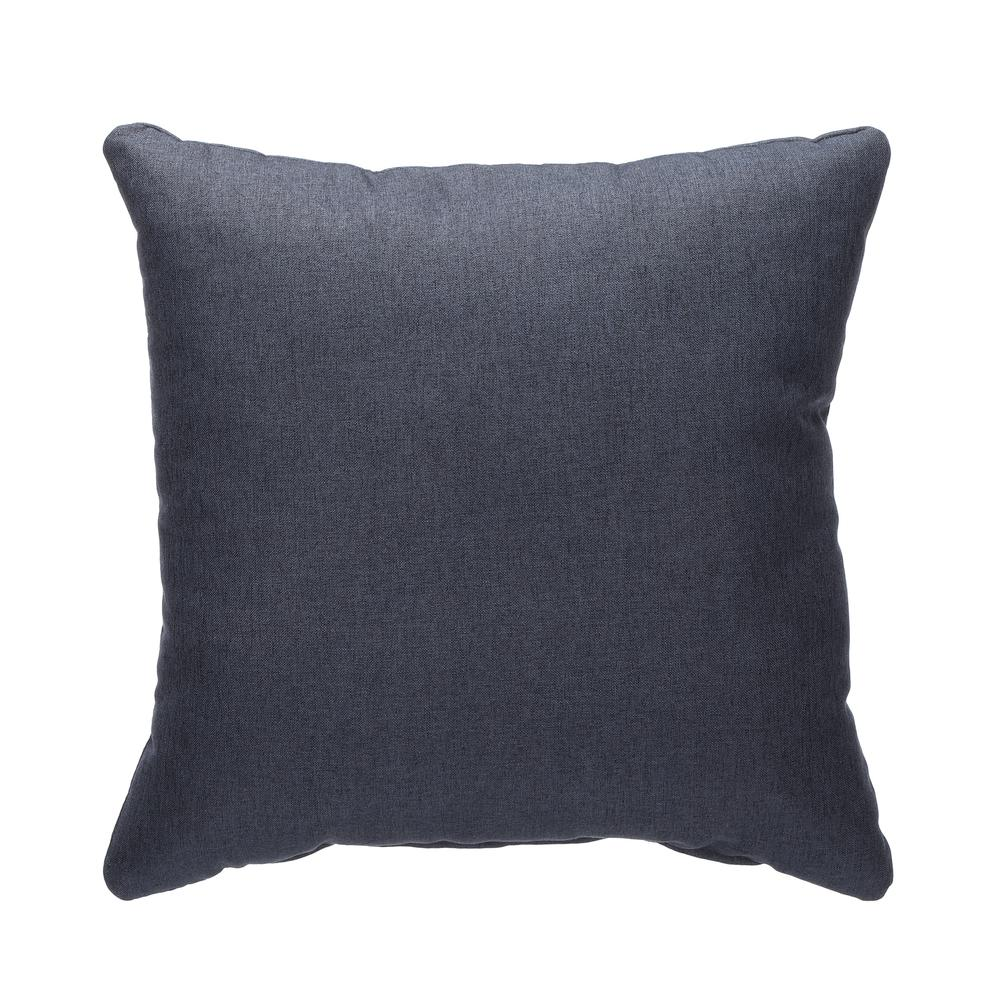 161 Collection Mid Century Modern 2-Pack 18 x 18 Accent Pillows, Navy. Picture 2
