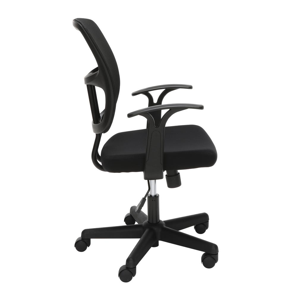 OFM Essentials Series Mesh Office Chair, in Black (ESS-3003). Picture 4
