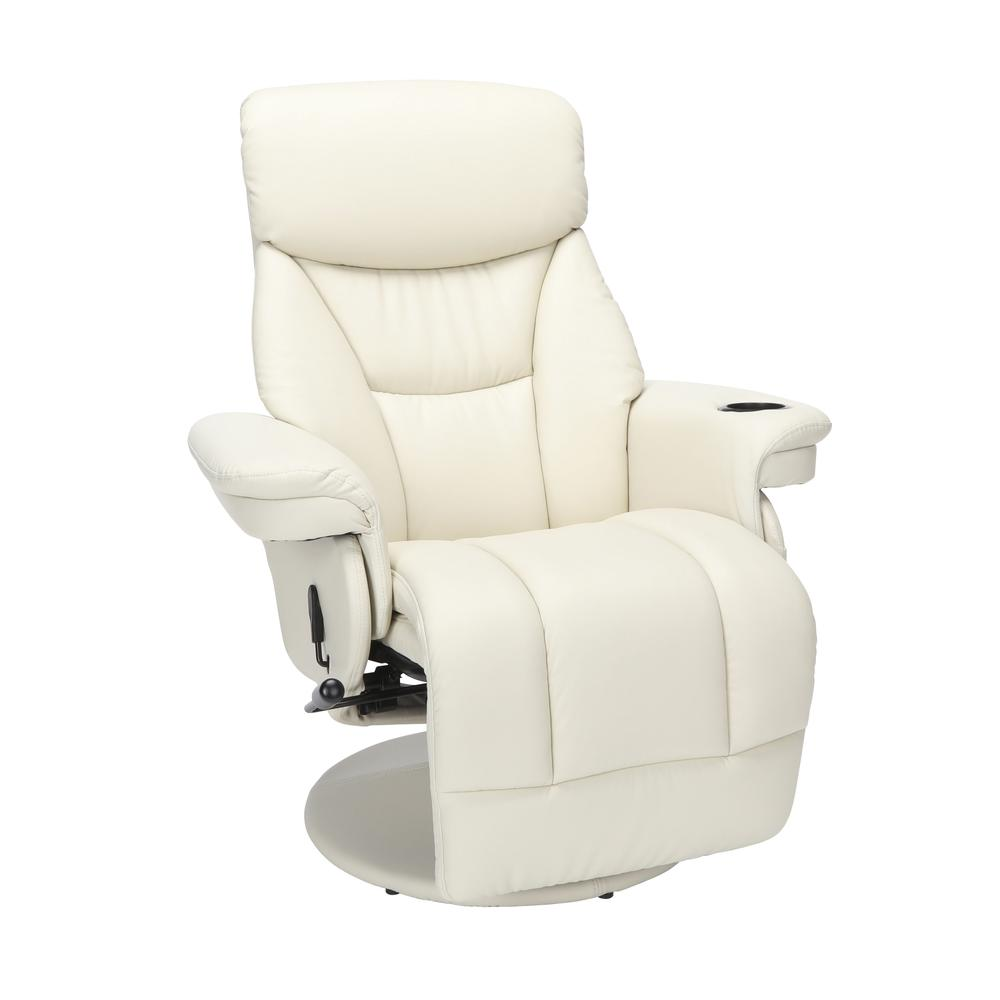 Essentials Collection Home Entertainment Recliner, in Beige (ESS-7070-BGE). Picture 1