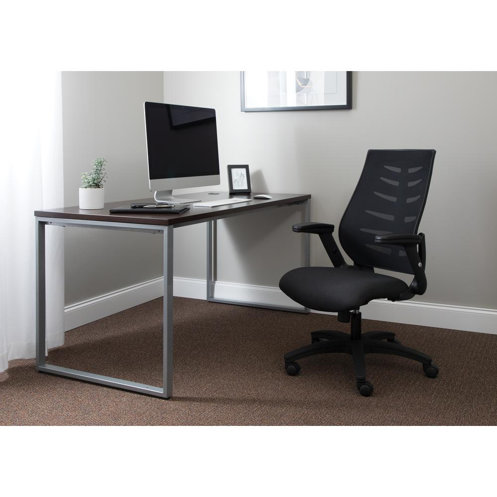 OFM Model 530-BLK Core Collection Midback Mesh Office Chair for Computer Desk, Black. Picture 7