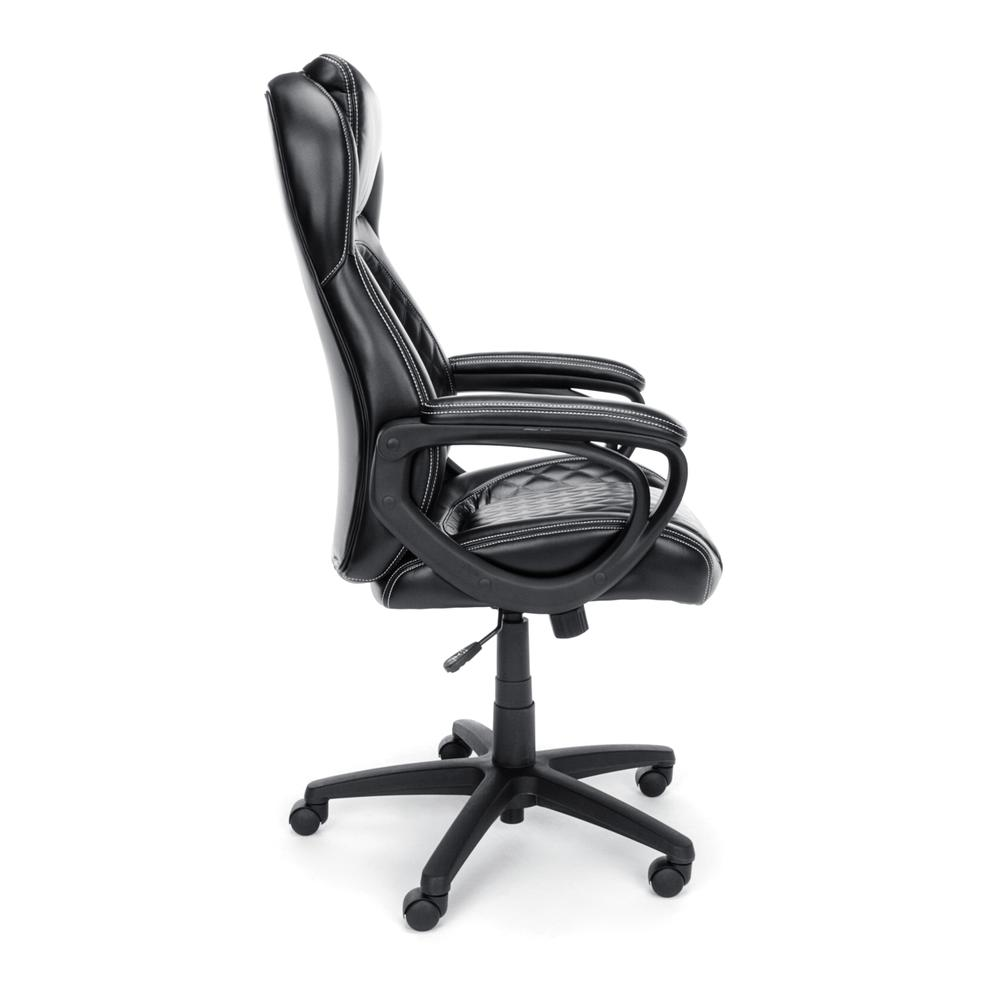 OFM ESS-6060 High-Back Racing Style Bonded Leather Chair. Picture 4