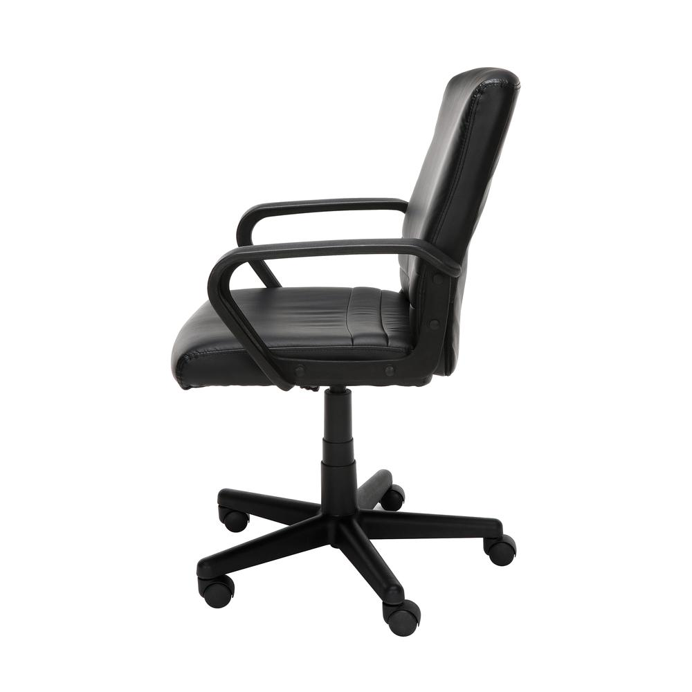 Essentials by OFM E1008 Mid Back Executive Chair, Black. Picture 5