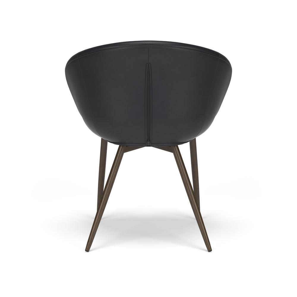 HON Basyx Monroe Bonded Leather Upholstered Guest Chair, in Black (BSX301SB11MW). Picture 3