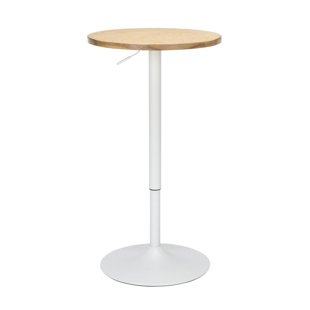 "The OFM 161 Collection Industrial Modern 33"" to 42"" Adjustable Pub Table provides a blank canvas that pairs beautifully with any of the stool seating from the 161 Collection. The pub table's height ad. Picture 3"