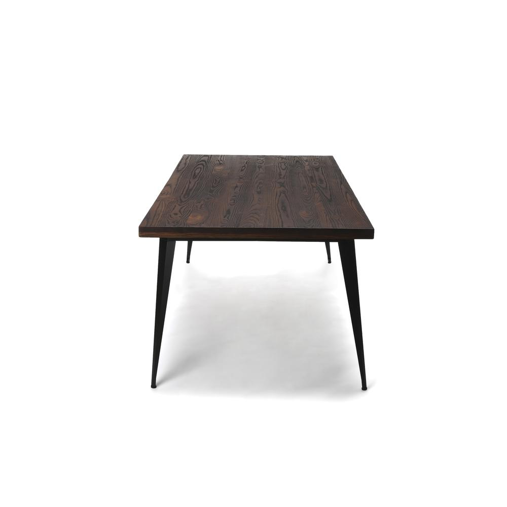 "OFM Edge Series 78"" Modern Wood Conference Table - Walnut (33378-WLT). Picture 5"
