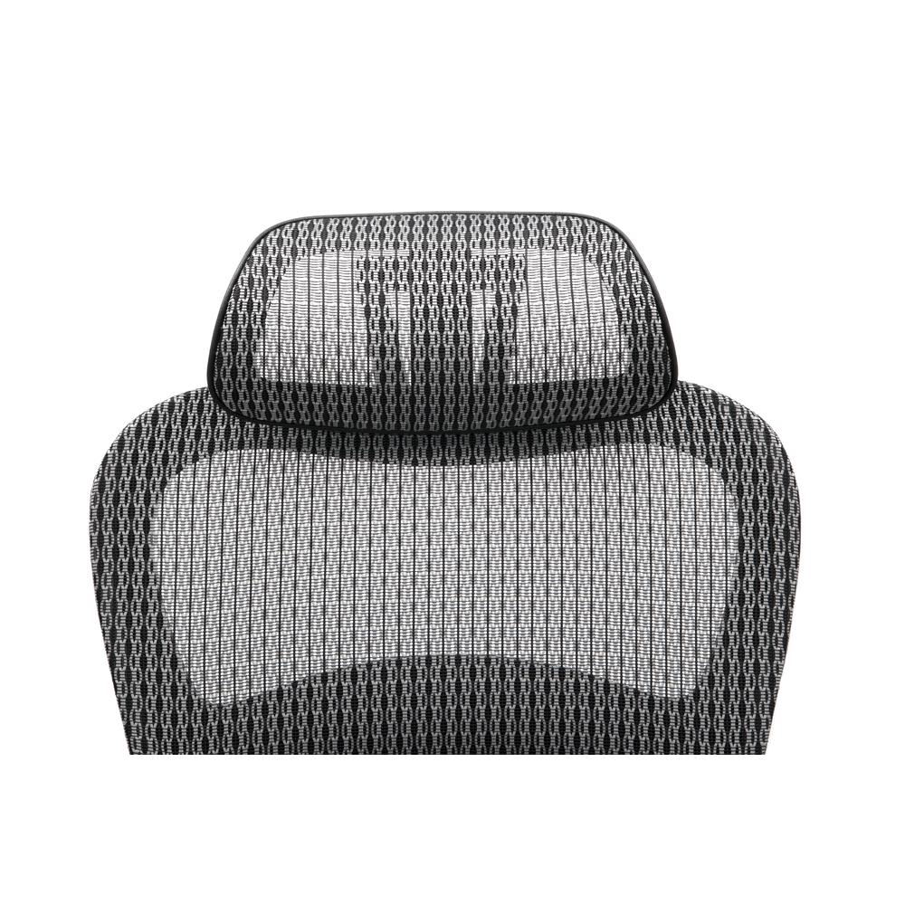 OFM Core Collection Ergo Office Chair featuring Mesh Back and Seat with Head Rest, in Gray (540-GRY). Picture 6