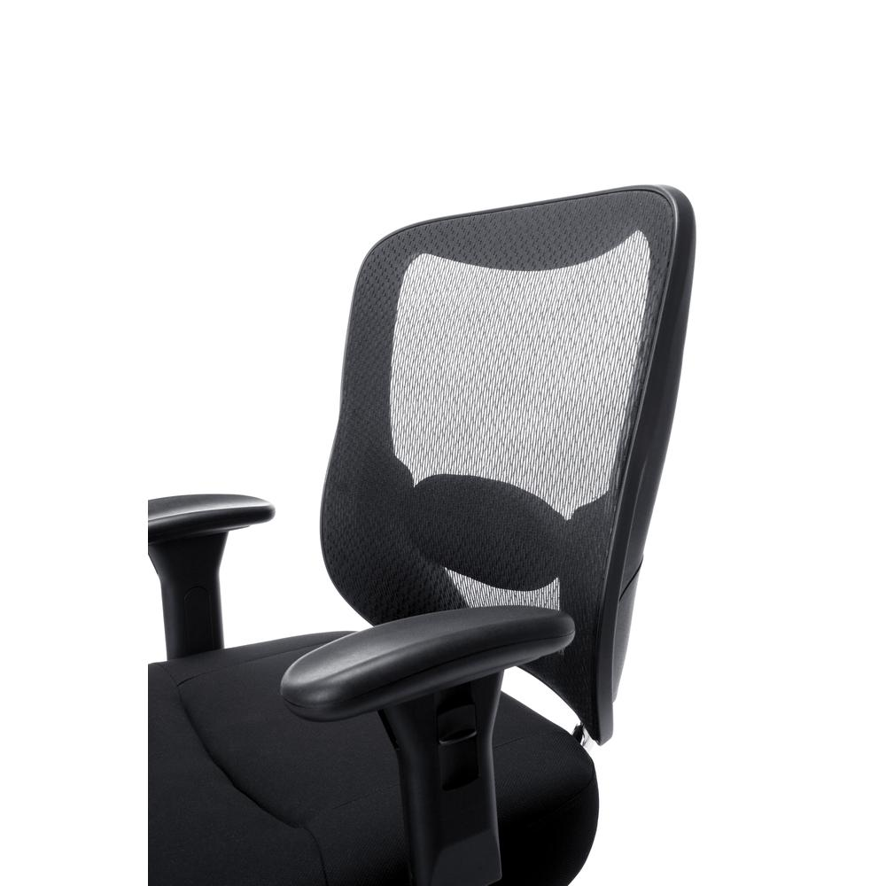 OFM ESS-200 Big and Tall Swivel Mesh Office Chair with Arms/Chrome. Picture 6