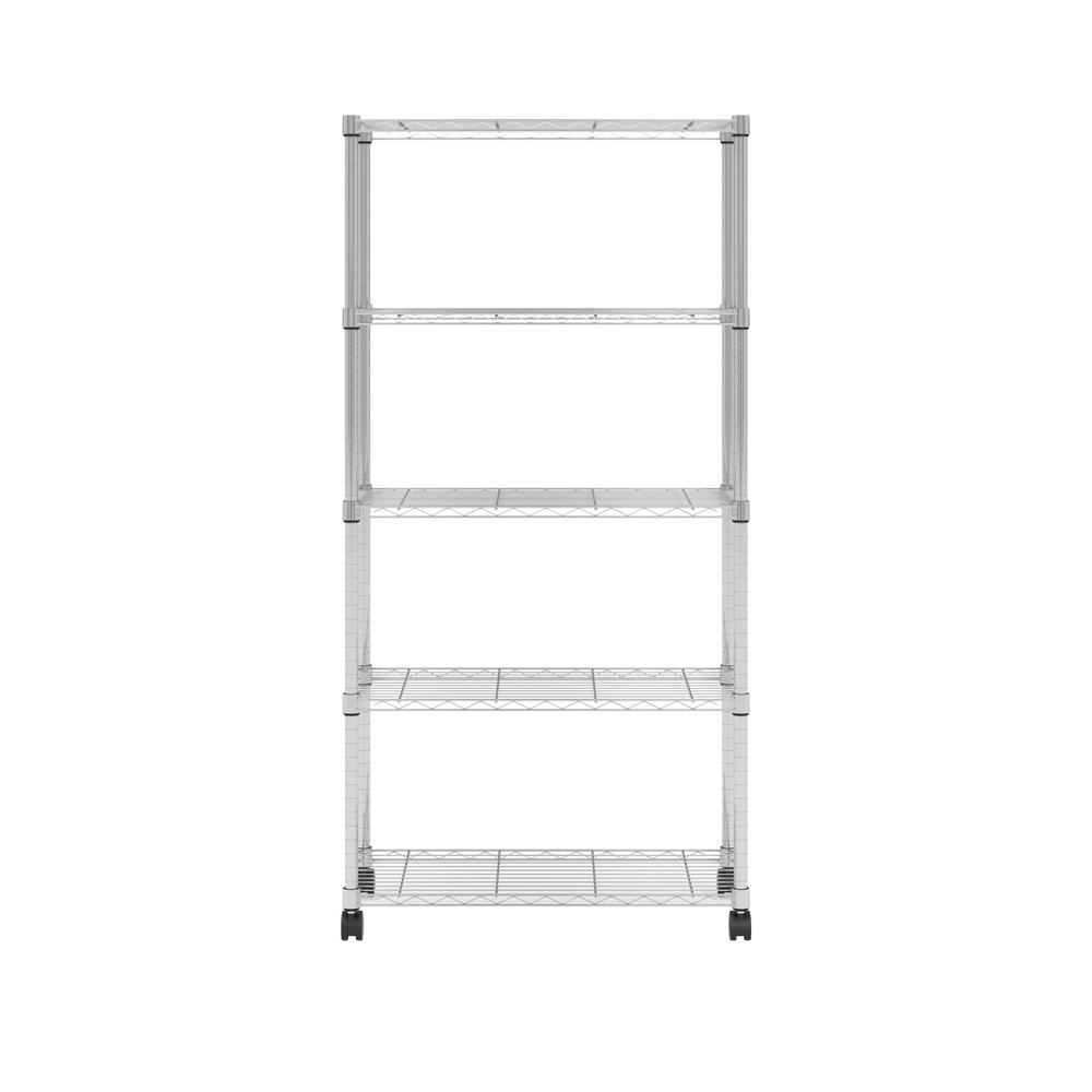 OFM Adjustable Wire Shelving Unit 30 x 60, in Chrome (S306014-CHRM). Picture 2