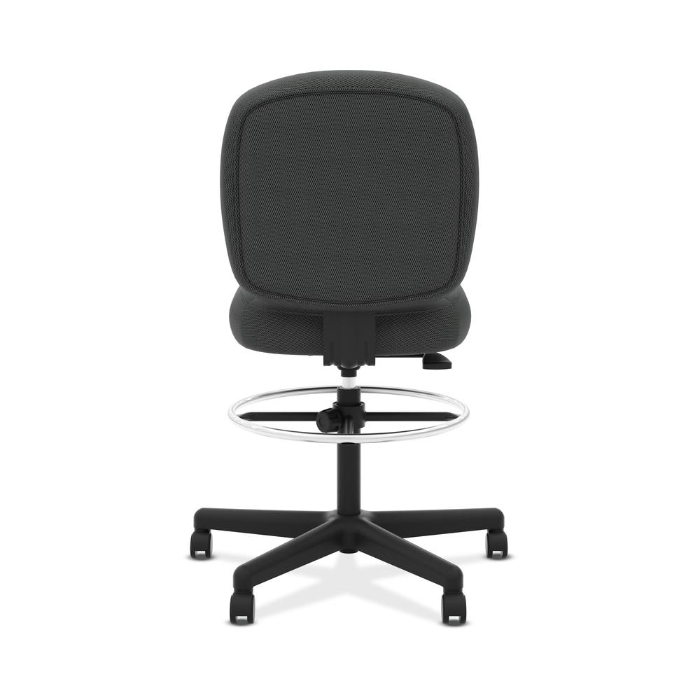 HON ValuTask Low-Back Task Stool Chair, in Black (HVL215). Picture 3