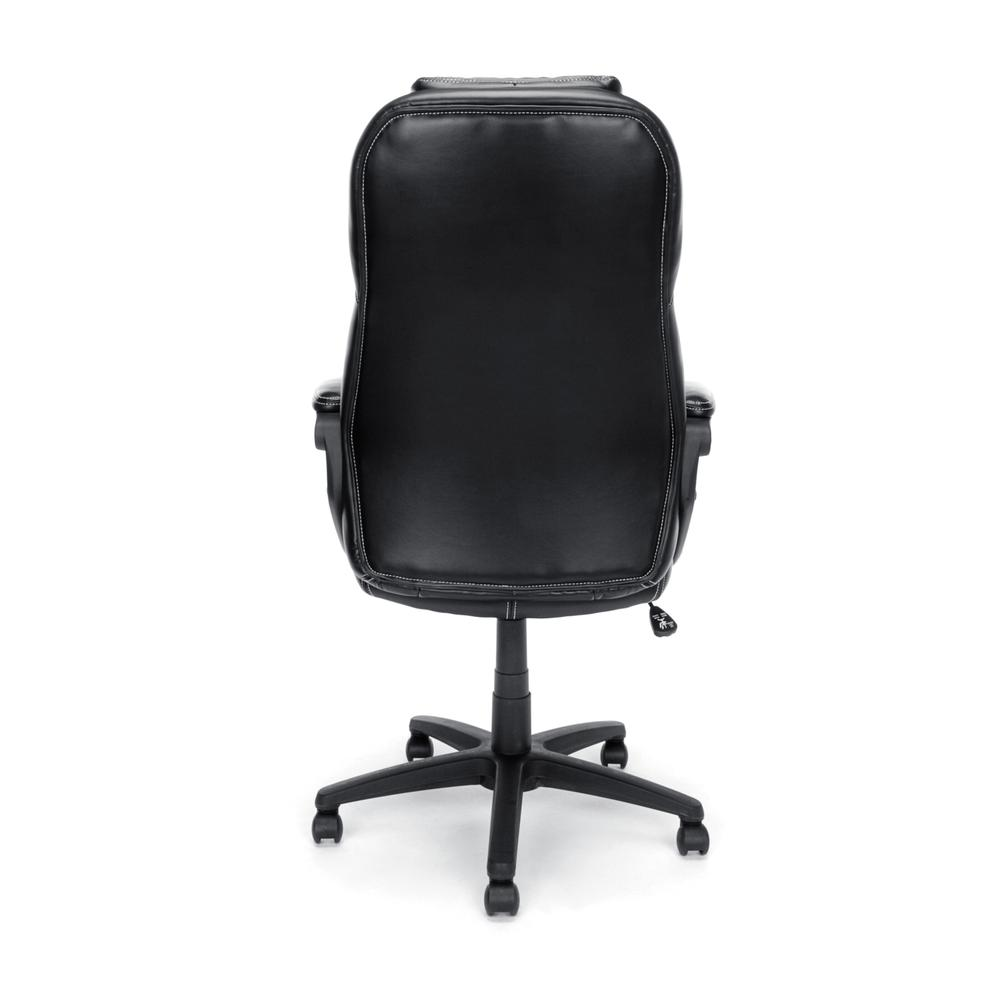 OFM ESS-6060 High-Back Racing Style Bonded Leather Chair. Picture 3
