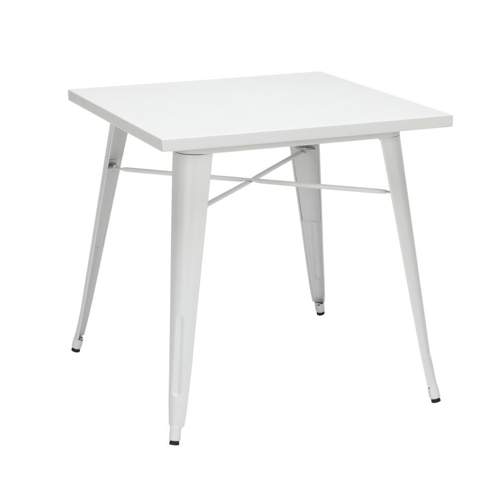 "The OFM 161 Collection Industrial Modern 30"" Square Dining Table is a blank slate that pairs perfectly with any chair from the 161 Collection. This industrial table doesn't just look rugged, it weathe. Picture 1"