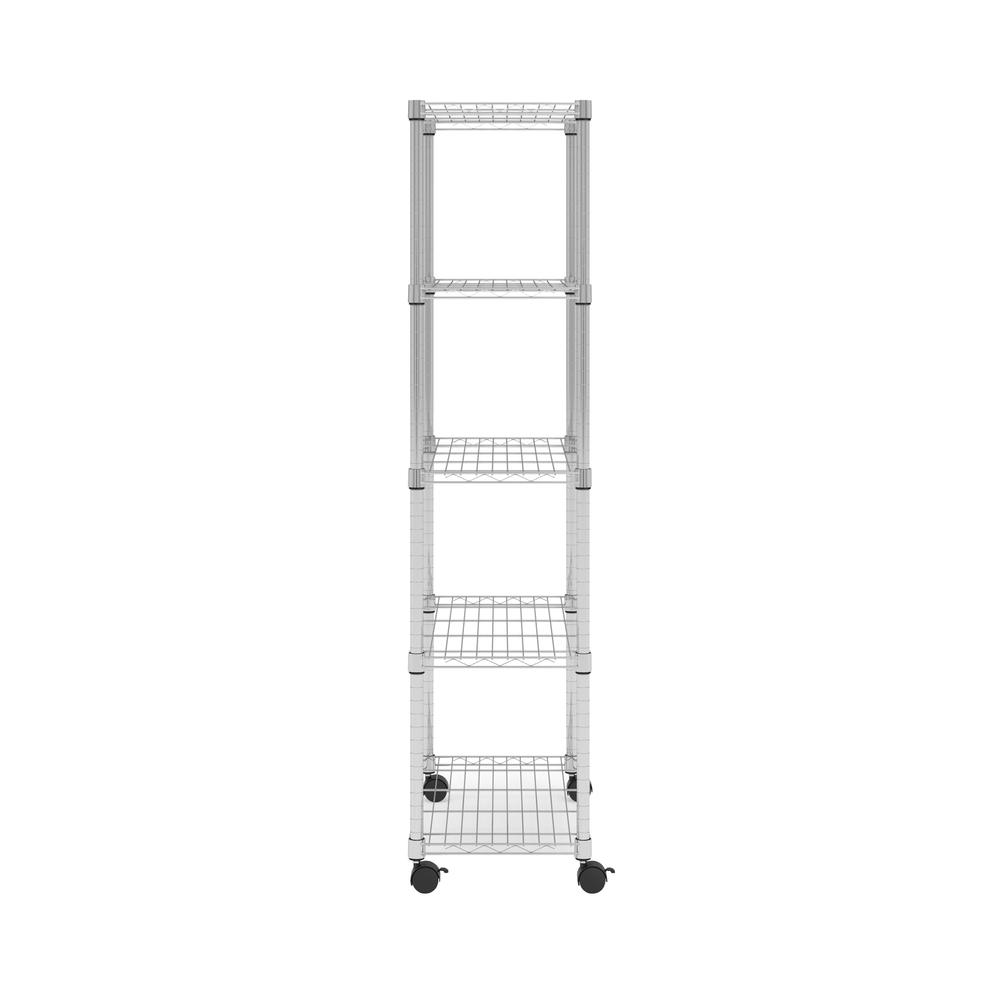 OFM Adjustable Wire Shelving Unit 30 x 60, in Chrome (S306014-CHRM). Picture 5