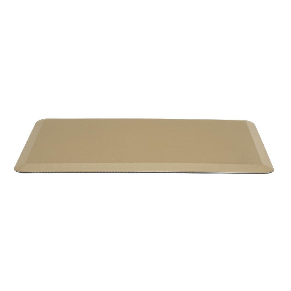 "Essentials by OFM ESS-8820 20"" x 36"" Anti-Fatigue Comfort Mat, Tan. Picture 3"