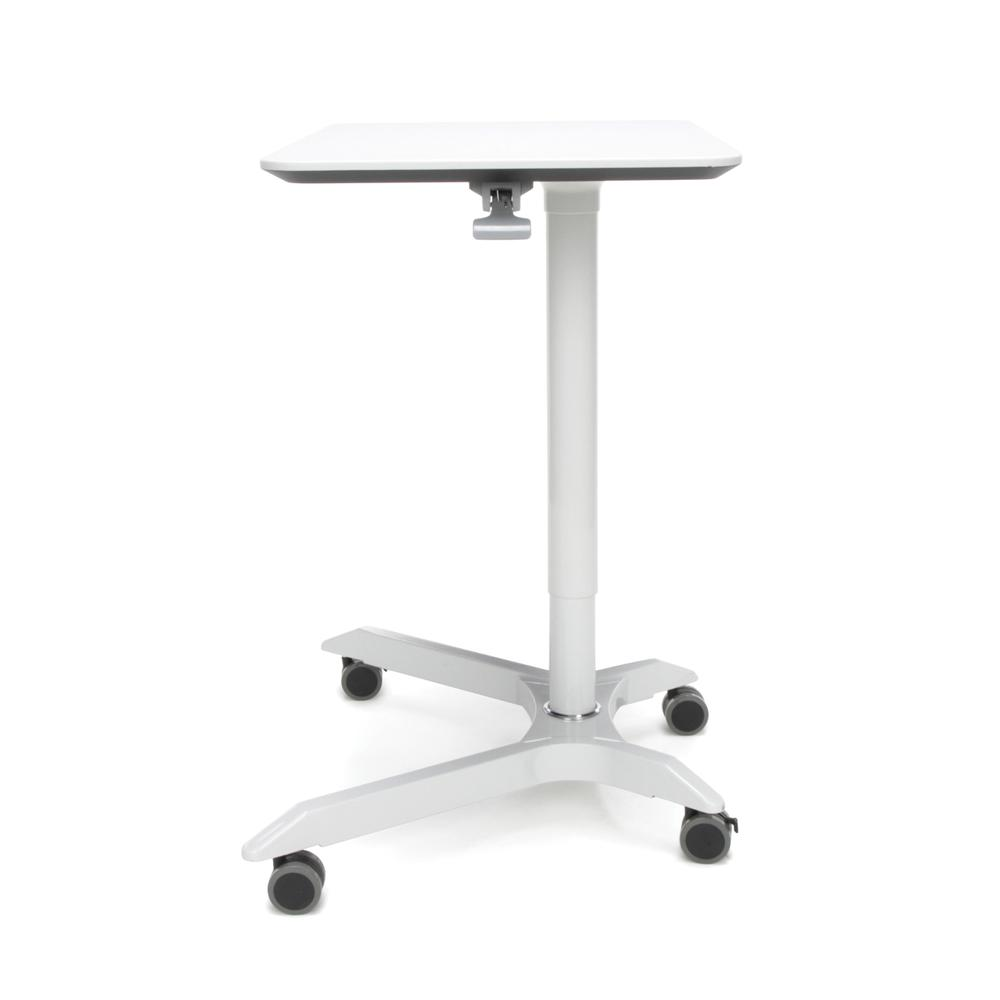 OFM Mesa Series Model 66100 Height Adjustable Mobile Podium, White. Picture 5