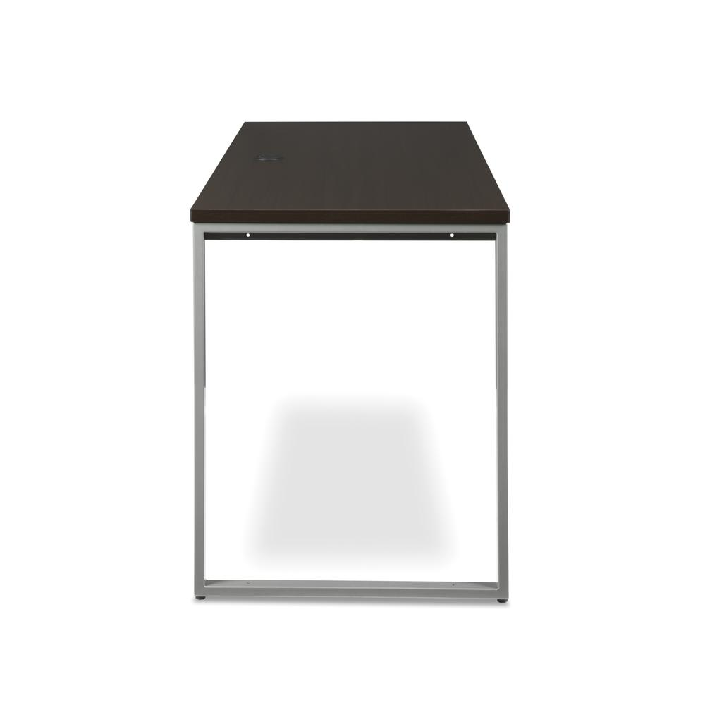 OFM Fulcrum Series 66x24 Credenza Desk, Desk Shell for Office, Espresso (CL-C6624-ESP). Picture 4