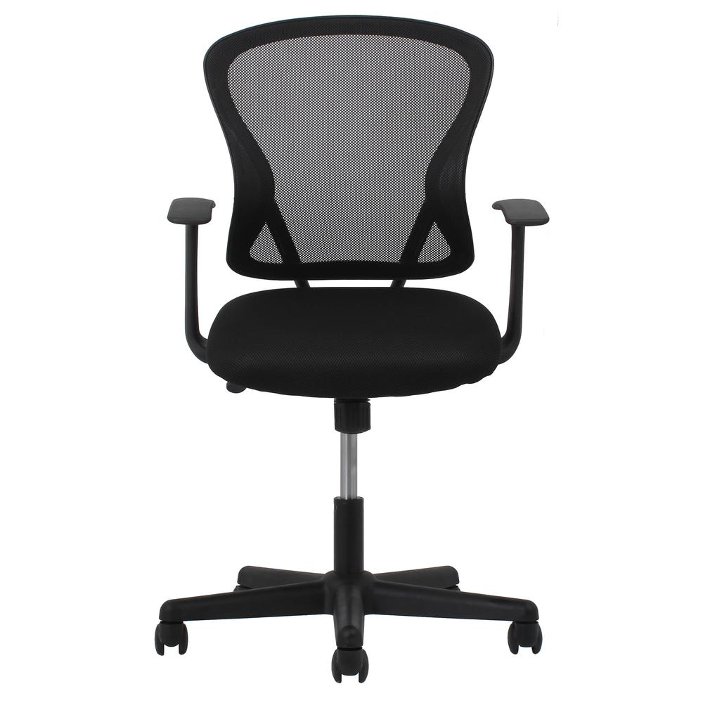 OFM ESS-3011 Swivel Mesh Back Task Chair with Arms, Mid Back. Picture 2