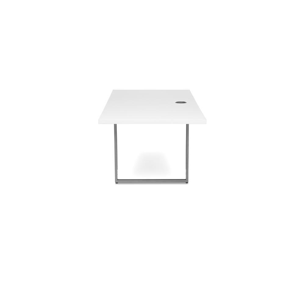 OFM Fulcrum Series 60x24 Credenza Desk, Desk Shell for Office, White (CL-C6024-WHT). Picture 5